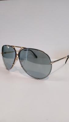 PORSCHE DESIGN Aviator Sunglasses P'8478 D 69 Black as Worn by KIM (Kim Kardashian Aviator Glasses)