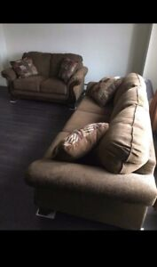 Sofa and Loveseat new