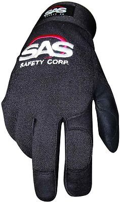 pair mechanical gloves resistant cut blisters good grip Leather tool safety sas - Leather Cut Resistant Gloves
