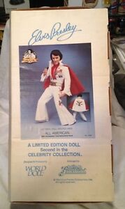 ELVIS-PRESLEY-Large-21-Vinyl-Doll-New-In-Box-All-American-1984-Rare-2nd-Ver