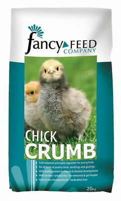 FANCY FEED CHICK CRUMBS POULTRY FOOD 20KG
