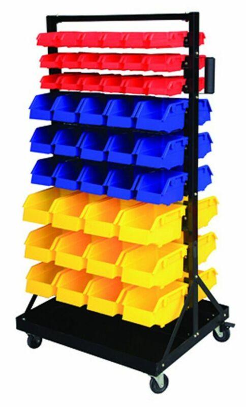 Parts Organizer Rack Bins 90 Seperate Storage Buckets Shop Small Big Nut & Bolt