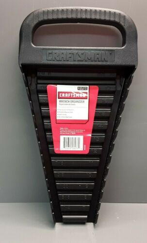 Craftsman 12-Wrench Organizer Black Organizer with Handle 96
