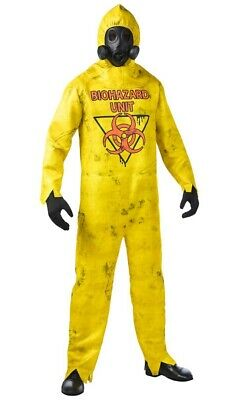 Hazmat Suit Costume XL Adult Spirit Halloween