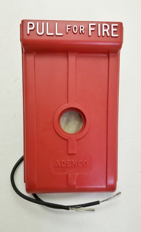 NEW Ademco 529 Red Fire Alarm Pull Station