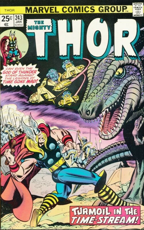 Comics -Marvel-THOR-243-January 1976