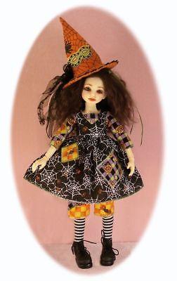 BJD pattern -Dress, pants, top, Halloween costumes for 27cm Plantedoll or MSD](27 Dresses Halloween Costume)