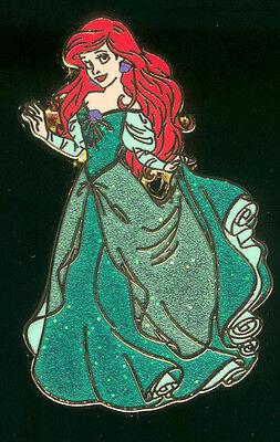 Princess Ariel Glitter Dress The Little Mermaid Disney Pin 93361