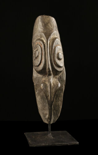 ancestor mask, sepik carving, papua new guinea