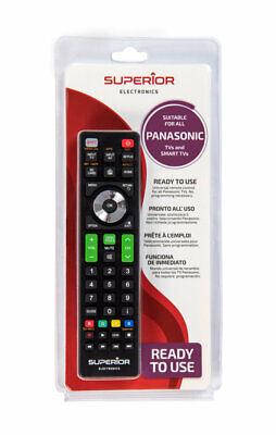 Mando a distancia TV y SMART TV PANASONIC | UNIVERSAL |Funcionamiento inmediato.
