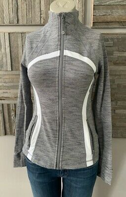 Lululemon Define Jacket Wee Are From Space Coal Fossil / White Size 6