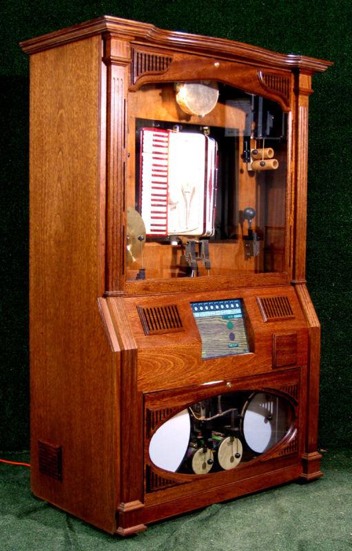 Accordion nickelodeon Karaoke coin jukebox