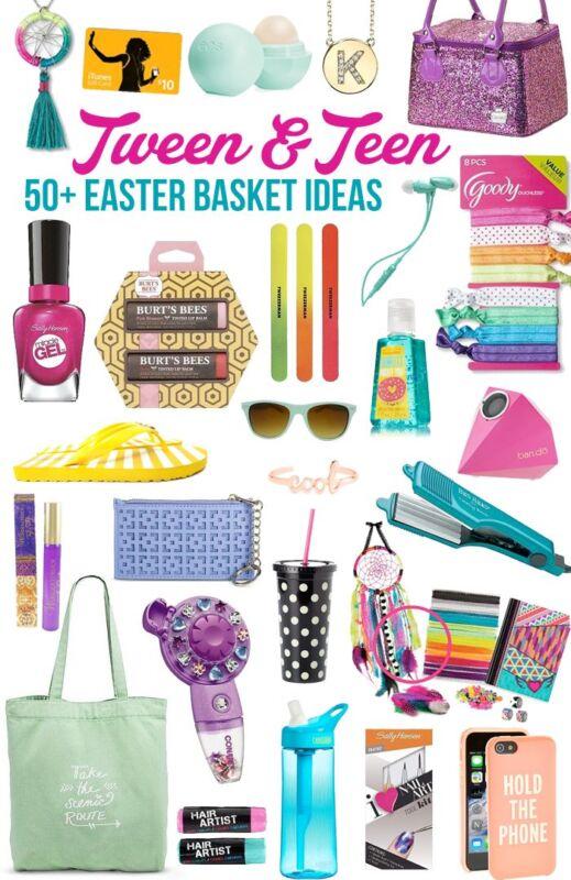 Easter Basket Fillers For Tween And Teen Girls
