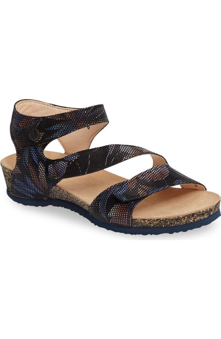 Womens Think! Dumia Shoes Cork Wedge Sandal Medium Width $16