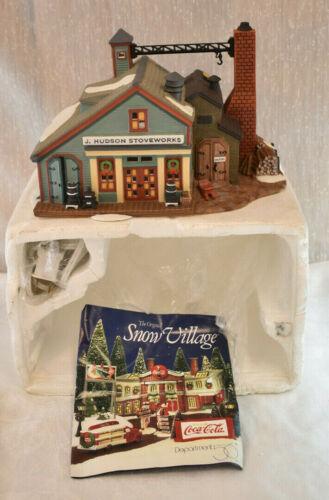 Dept 56 New England Village Series J. Hudson Stoveworks 5657-4 Christmas 1996