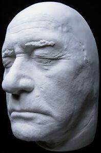 Details about darren mcgavin christmas story leg lamp life mask bust