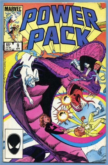 Power Pack #9 1985 Marvel Comics