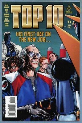 Top 10 #11 (May 2001, DC) Alan Moore Gene Ha [America's Best