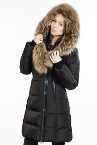 Mackage women's black fur coat. Size small. Very good condition.