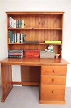 Desk (3 draw) and hatch/bookshelf Hunters Hill Hunters Hill Area Preview