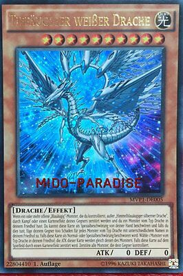 Yu-Gi-Oh! - Tiefäugiger Weißer Drache - MVP1-DE005 - Ultra Rare