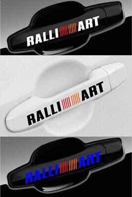 Mitsubishi Lancer RalliArt Decal for Door Wheel Vinyl Stickers (4 pieces Set)