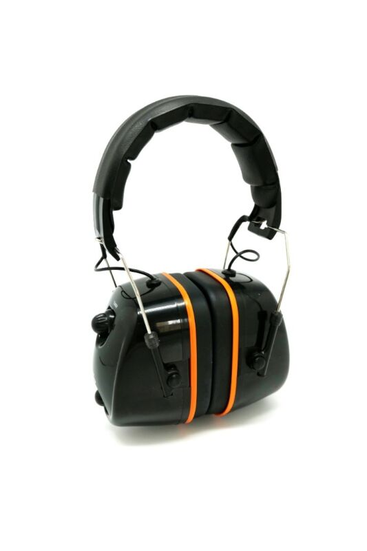 [USA STOCK] FM Hearing Protector Earmuffs Radio Mowing Work Headphone