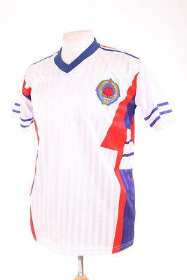 YUGOSLAVIA WHITE AWAY ITALIA 90 1990 RETRO REPLICA FOOTBALL SHIRT XXL