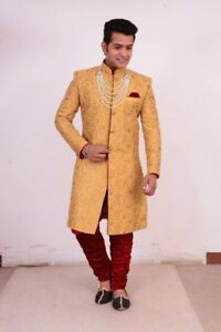 Indian Mens Sikh wedding Sherwani groom kurta jago suit rent