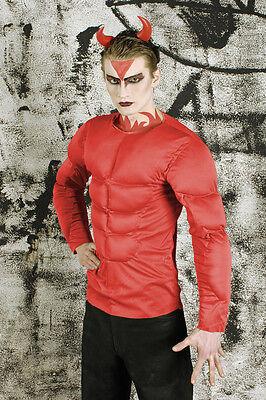 sto Teufelskostüm Halloween Herren SIX PACK Muskeln Fasching (Herren Teufel Halloween-kostüme)