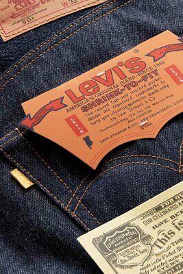 Levi's Vintage Clothing 1971 Golden Ticket 501 Selvedge Jean sz 30 x 32 LVC
