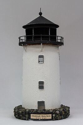 Leuchtturm DICKE BERTA Altenbruch Elbe Metall Deko Modell Leuchtturmmodell NEU