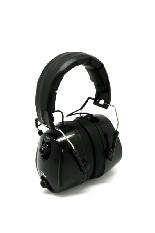 [USA STOCK] FM Radio Ear Protector Ear Muffs Hearing Noise Black
