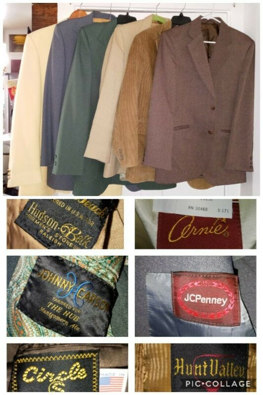 Vintage clothing lot Men