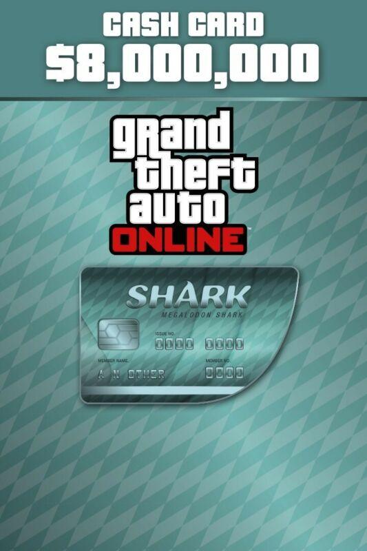 gta 5 shark card $8,000,000 digital code PC