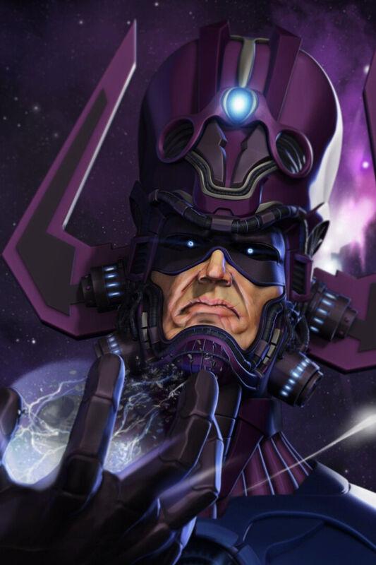 Heralds of Galactus Super Villain Galan Taa Art Wall Room Poster - POSTER 24x36