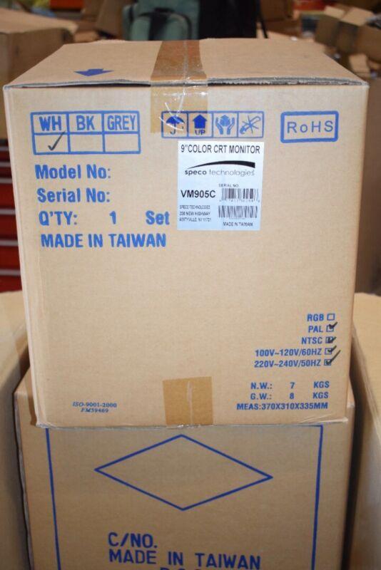 NEW Sealed SPECO Technologies VM905C 9