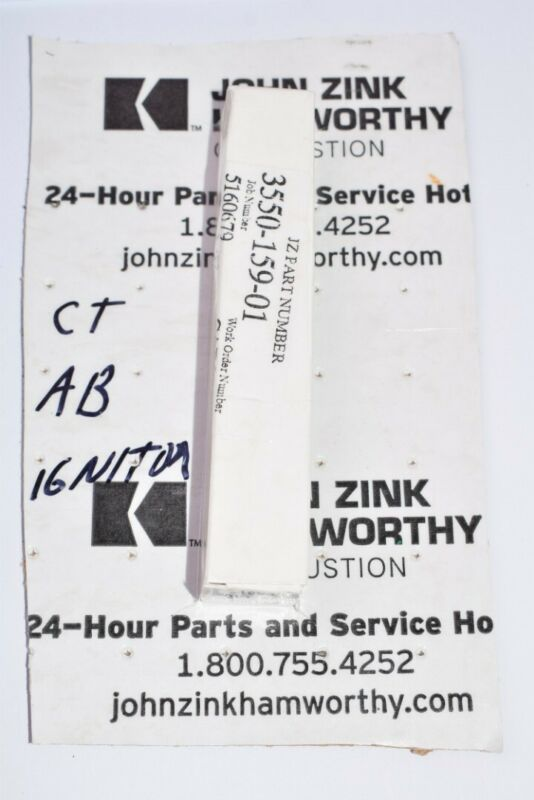 NEW John Zink Hamworthy Part: 3550-159-01