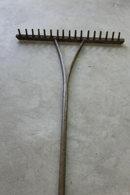 Vintage Wooden Hay Rake