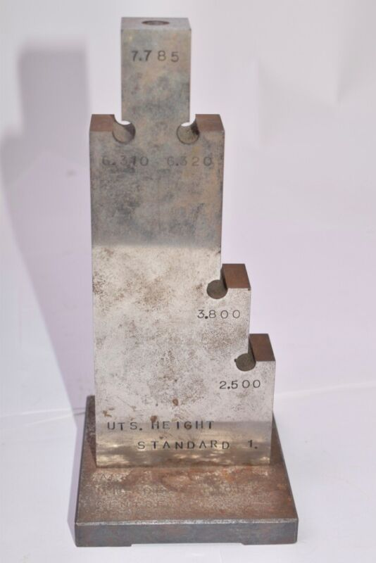 Ultratech Stepper, UTS, Height Standard, 2.500-7.785