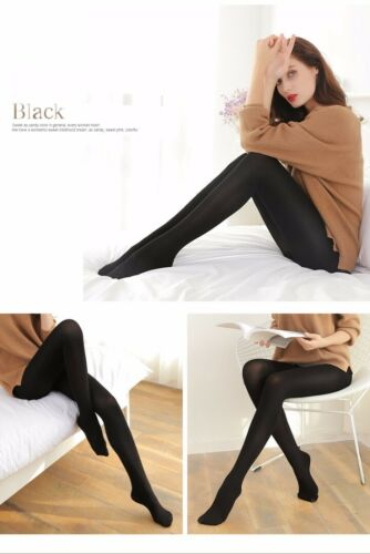 NEW Women Winter Footed Warm Tights Thick Opaque Stockings Pantyhose medium