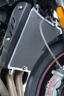 TRIUMPH STREET TRIPLE 765 RS 2017 RG RACING TITANIUM RADIATOR GUARD R