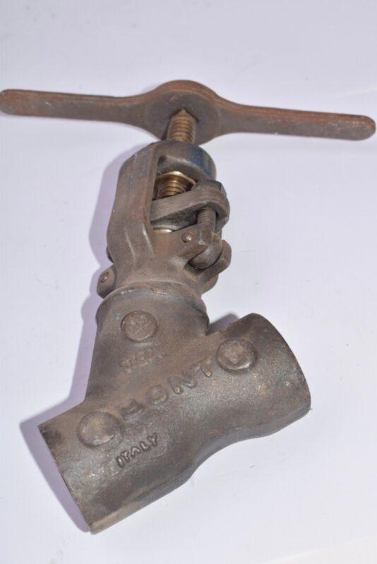Bont, Part: 6041 Industrial Steel Globe Valve 3/4