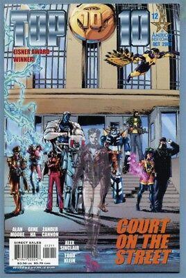 Top 10 #12 (Oct 2001, DC) Alan Moore Gene Ha [America's Best Comics] Final