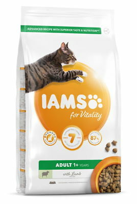 Iams Vitality Adult Cat Food With Lamb 800g