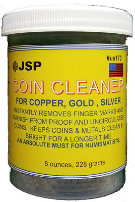 JSP® Coin Gold Bullion Jewelry Cleaner - 8 Oz  with basket(us170)