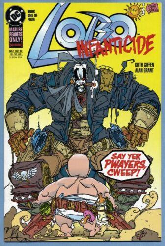 Lobo Infanticide #1 1992 Alan Grant Keith Giffen DC Comics