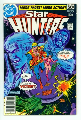 STAR HUNTERS #7 NM 9.4 LAST ISSUE GILBERT COMIC 1978