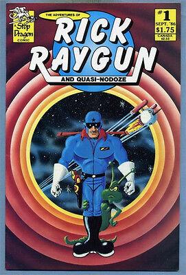 The Adventures of Rick Raygun & Quasi-Nodoze #1 1986 A Stop Dragon Comic