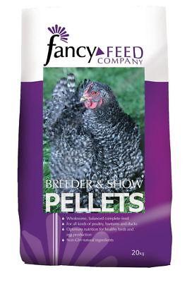 Fancy Feeds Breeder & Show Pellets 20kg